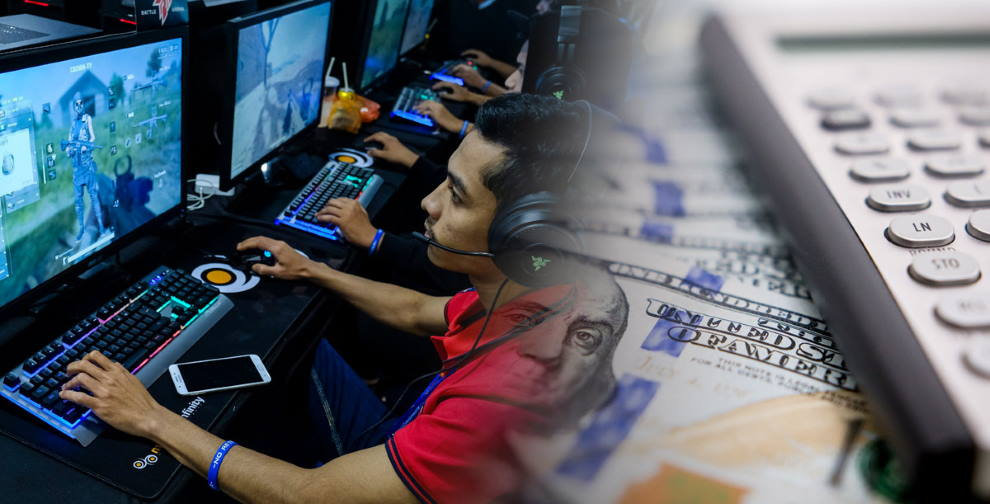 betting over video games